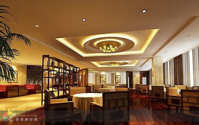 欧式茶楼2 欧式,50 100万 设计展示 成都茶楼装修 无忧装饰建材网